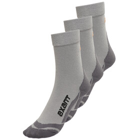 axant Trekking Socks Kids 3er Pack grey-orange
